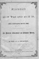 Wisconsin as it was and as it is : 1836 compared with 1866 : its material, educational and religious history