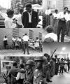 Images of Stokely Carmichael in Prattville, Alabama.