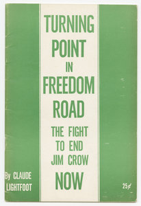 Turning Point in Freedom Road: The Fight to End Jim Crow Now