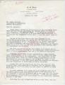 A.O. Jones to Mr. Meredith (13 October 1962)