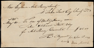 Letter from Anne Warren Weston, New Bedford, [Mass.], to Ann Bates Weston, May 30, 1836, Monday afternoon