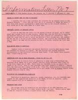 Information Letter No. 7