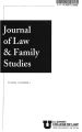Journal of Law and Family Studies Volume 10