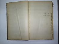 Scurlock Studio Records, Ledger Volume 02, 1922 - 1927
