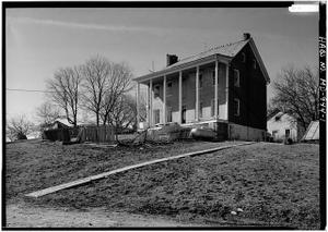 Henry Rohrbach Farm, House, East of Burnside Bridge Road, Sharpsburg, Washington County, MD