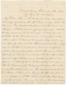 Letter from William F. Samford in Oak Bowery, Alabama, to Bolling Hall.