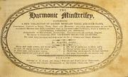 The harmonic minstrelsey