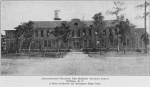Administration building; The Morrison Training School; Hoffman, N. C.; A State institution for delinquent Negro boys