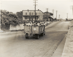The last truckload of cotton hoers from Memphis bound for the Wilson Cotton Plantation in Arkansas, 43 miles distant, June 1937