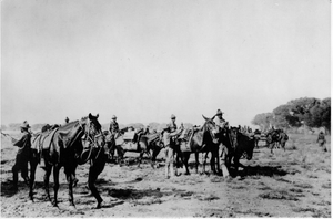 Machine Gun Troop, 10th Cavalry