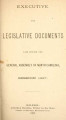 Executive and legislative documents [1887]