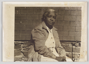 Photographic print of an unidentified woman