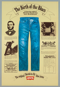 """""""The Birth of the Blues"""" for Levi Strauss"""