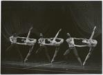 Six dancers in Arthur Mitchell's Rhythmetron