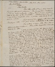 Letter to] Brother Phelps [manuscript