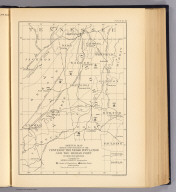 Sketch map showing the position of the center of the Negro population and the median point in 1880, 1890 and 1900. Compiled by Henry Gannett, Geographer. (United States Census Office, 1903). Julius Bien & Co., N.Y. Twelfth census of the United States, taken in the year 1900. William R. Merriam, Director. Statistical atlas. Prepared under the supervision of Henry Gannett, Geographer of the Twelfth Census. Washington: United States Census Office. 1903. 52. Center Negro population 1880-1900.
