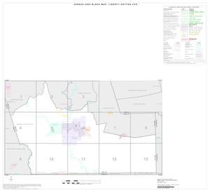 2000 Census County Subdivison Block Map: Liberty-Dayton CCD, Texas, Index 2000 Census County Subdivision Block Map Liberty-Dayton CCD