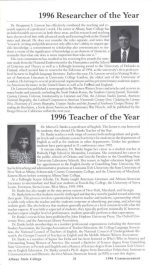 Researcher of the Year, 1996