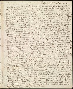 Letter from Richard Davis Webb, Dublin, [Ireland], to Caroline Weston, 14th of October 1851