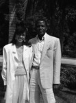 Sydney Poitier and Wife, Los Angeles, 1986