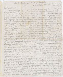 Letter from Francis Bishop, [London, England], to Mary Anne Estlin, 1854 Nov[ember] 30