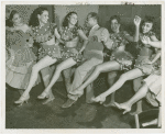 Amusements - Performers and Personalities - Henry Armstrong with dancers at Gay New Orleans