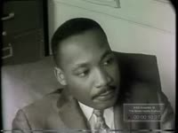 KING STRESSES THE IMPORTANCE THAT BLACKS VOTE (NO DATE)