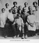Louis Thompson and family
