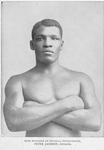 Fine specimen of physical development, Peter Jackson, athlete