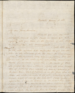 Letter from James F. Otis, Portland, [Maine], to William Lloyd Garrison, 1832 January 11