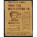 President Carter : free the Wilmington 10