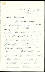 Letter to] Dear Wendell [manuscript