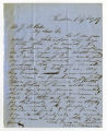 Letter by W. M. Belsen from Kingstree to Ziba Oakes