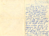 Yuriko Yamauchi letter to Ella C. Evanson regarding life in Camp Harmony, Section C of the Puyallup Assembly Center on May 15, 1942