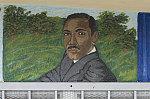 MLK Jr. mural at El Taco Mexicano, Vernon Avenue at Hooper Avenue, LA, 2013