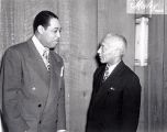 Duke Ellington and Alain Locke