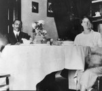 African Americans in dining room