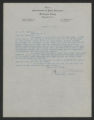 General Correspondence of the Director, Last Name D, 1915