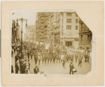 View of Silent Protest Parade on Fifth Avenue, New York City, July 28, 1917 in response to the East St. Louis race riot