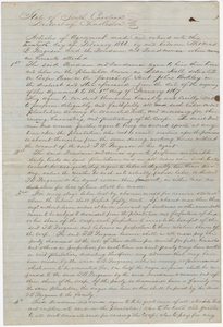272. Agreement between Thomas B. Ferguson and Freedmen -- February 20, 1866
