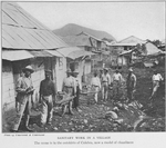Sanitary work in a village : The scene is in the outskirts of Culebra, now a model of cleanliness