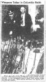 """Photograph published in Tennessean Feb 27, 1946 with the caption """"Weapons taken in Columbia raids"""""""