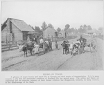 Negro ox teams; A glimpse of Negro homes and street life in Georgia and their modes of transportation