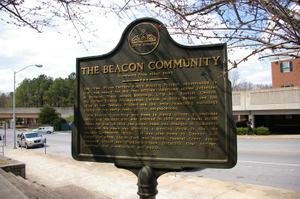 The Beacon Community (Side 2) historical marker
