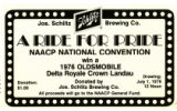 A Ride for Pride Flyer