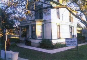 W.H. Passon Historical Society Home
