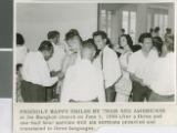 Members of the Somprasong 4 Church of Christ Following a Sunday Morning Worship Service, Bangkok, Thailand, 1966