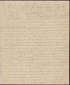 Letter from Deborah Weston, New Bedford, [Mass.], to Caroline Weston, March 21st, 1839, Thursday