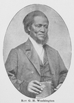 Rev. G. H. Washington A pioneer worker in Baltimore, Md., and in the A. M. E. Z. Church in New England