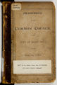 Proceedings of the Common Council of the City of St. Paul for the Fiscal Year of 1876